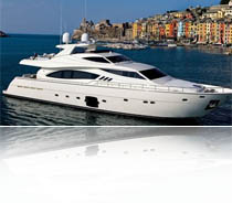Модель Ferretti 881RHP (Модельный ряд яхт Ferratti)